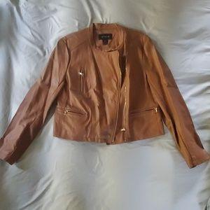 Ann Taylor Faux Leather jacket.